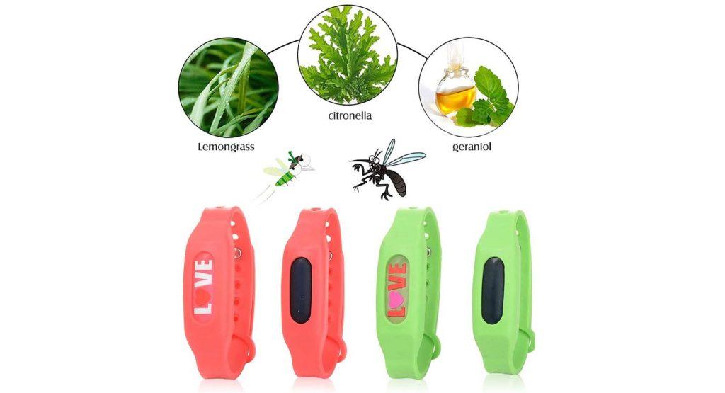 pulseras anti mosquitos